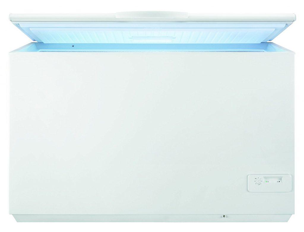 Arcón congelador Zanussi ZFC51 500 litros abierto barato económico mejor oferta oportunidad