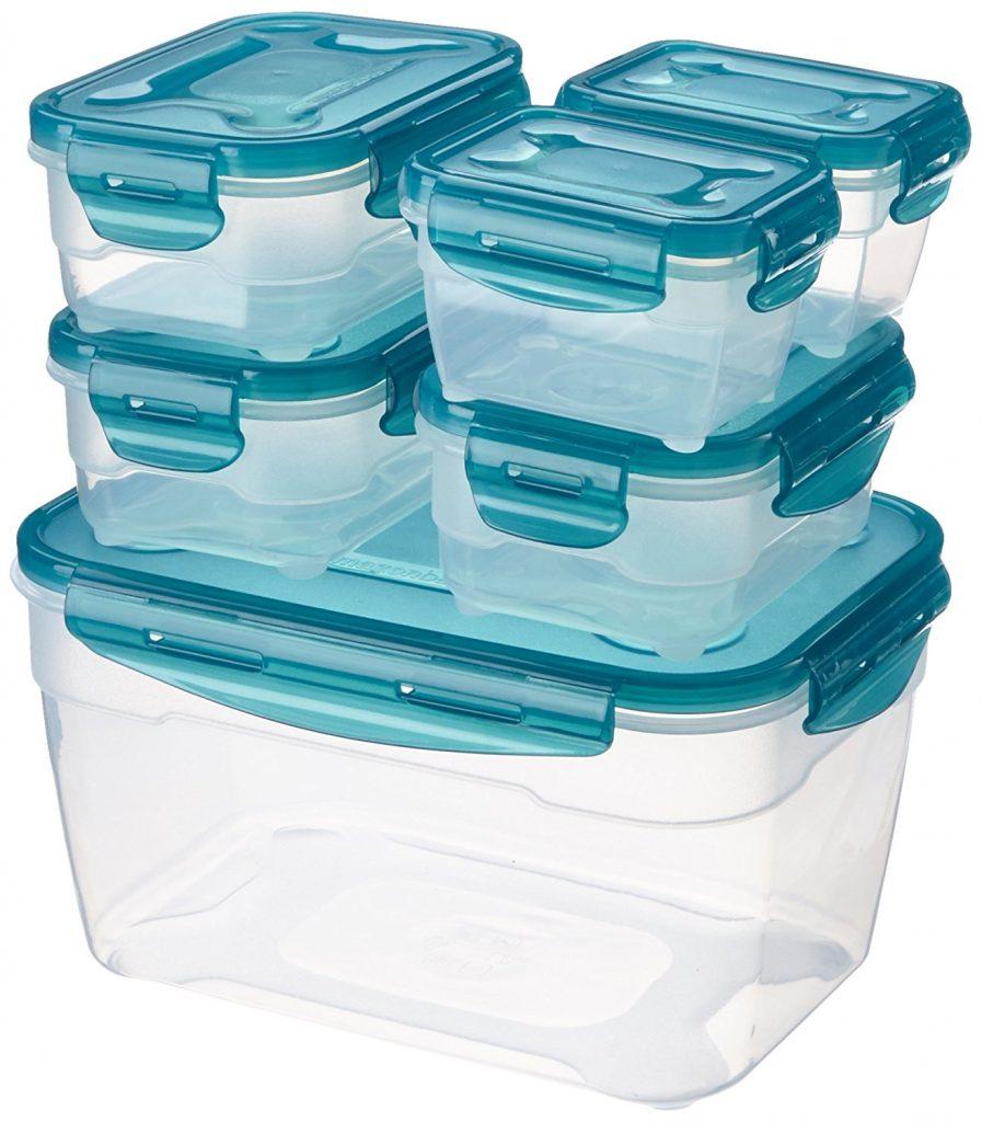 Cajas de congelación o tupperwares